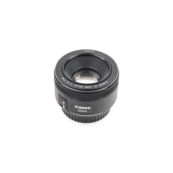 Canon EF 50mm f/1.8 STM - Käytetty