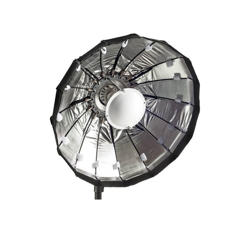 Lencarta Folding Beauty Dish 60cm Valkoinen - Bowens