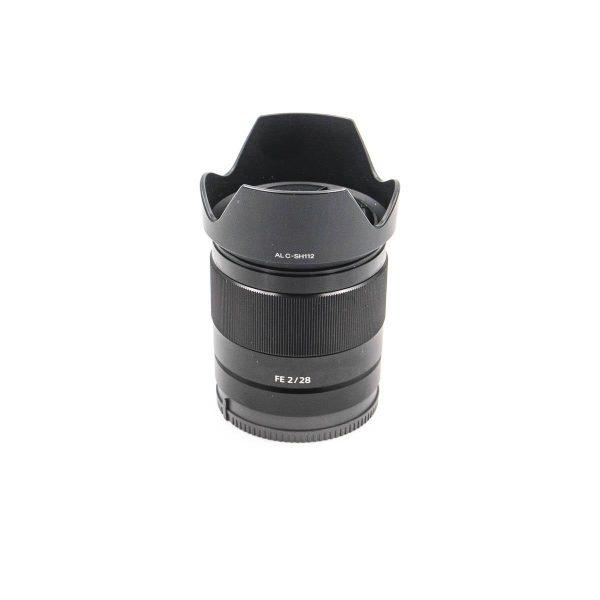 Sony FE 28mm f/2 - Käytetty