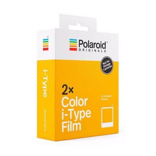 Polaroid Originals i-Type värifilmi 2-pack