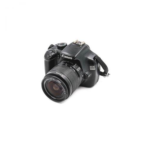 Canon 1100D + EF-S 18-55mm f/3.5-5.6 IS II (Shuttercount 9850)- Käytetty