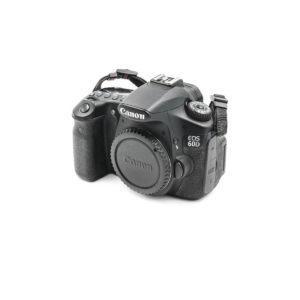 Canon 60D (Shuttercount 12700) - Käytetty