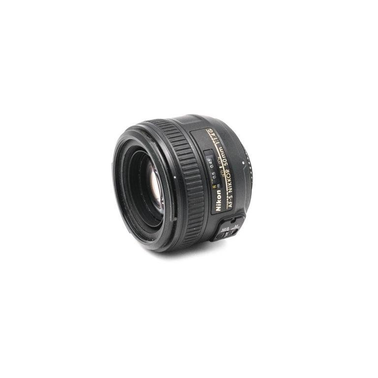 Nikon AF-S Nikkor 50mm f/1.4 G - Käytetty
