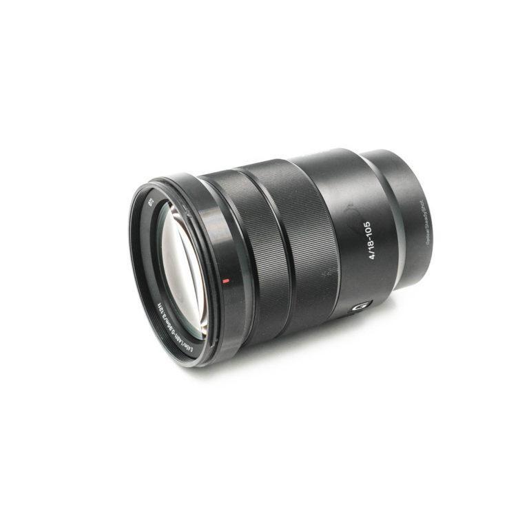 Sony E 18-105mm f/4 G OSS - Käytetty