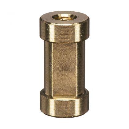 """Manfrotto 119 Spigot adapteri 1/4"""" & 3/8"""" kierteillä"""