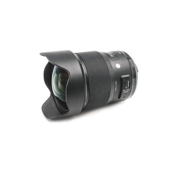 Sigma Art 20mm f/1.4 Nikon – Käytetty
