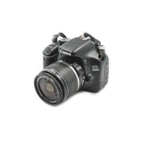 Canon 550D + 18-55mm f/3.5-5.6 IS - Käytetty