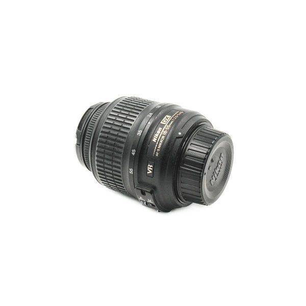Nikon AF-S Nikkor 18-55mm f/3.5-5.6 G VR DX - Käytetty