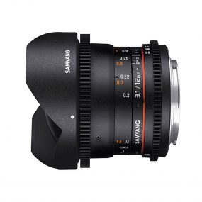 Samyang 12mm T3.1 VDSLR ED AS NCS Fish-eye – Sony E