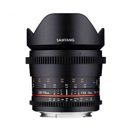 Samyang 16mm T2.6 ED AS UMC VDSLR - Sony E