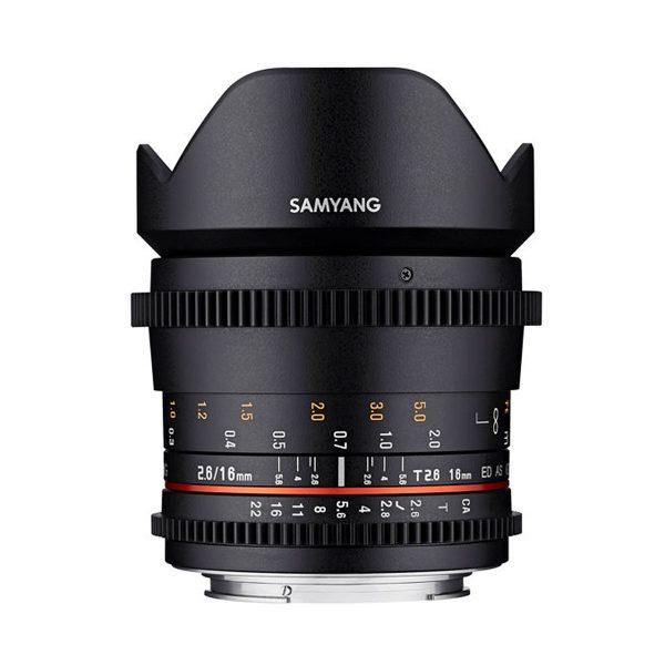 Samyang 16mm T2.6 ED AS UMC VDSLR – Sony E