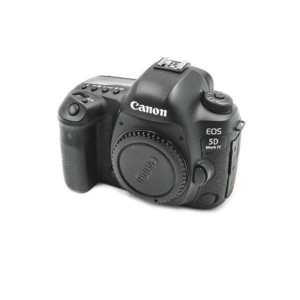 Canon 5D Mark IV (Shuttercount 38000, Kunto K4.5) - Käytetty