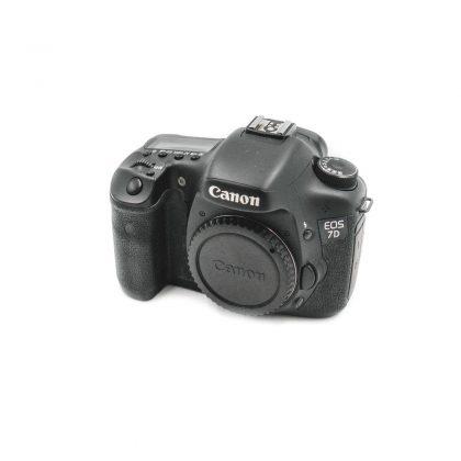Canon 7D - Käytetty