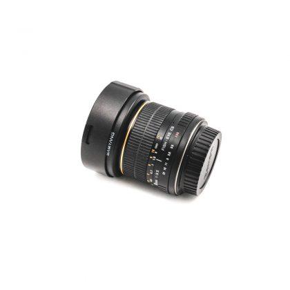 Samyang 8mm f/3.5 CS Canon - Käytetty