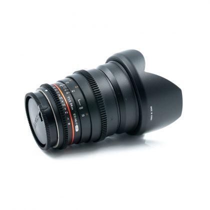 Samyang 24mm t/1.5 ED AS IF UMC Sony A (K5 kunto) - Käytetty