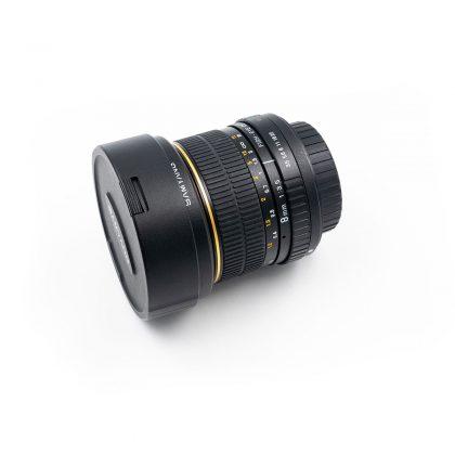 Samyang 8mm f/3.5 Fisheye Sony A (K5 kunto) - Käytetty