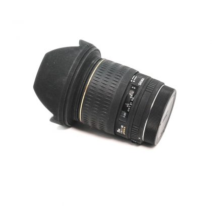 Sigma 20mm f/1.8 EX DG Canon - Käytetty