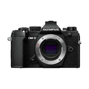Olympus OM-D E-M5 MK III runko – Musta