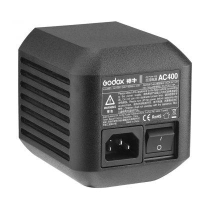 Godox AC400 verkkovirta-adapteri Godox Wistro AD400