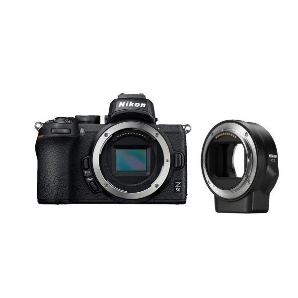Nikon Z50 + FTZ adapteri