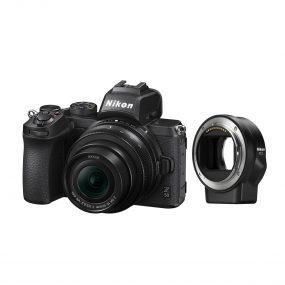 Nikon Z50 + Nikkor Z DX 16-50mm f/3.5-6.3 VR + FTZ adapteri