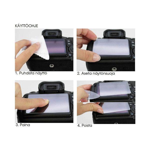 Dörr MAS LCD Protector Näytönsuoja Sony a7 III, a7r III, a9 ja Rx10 IV