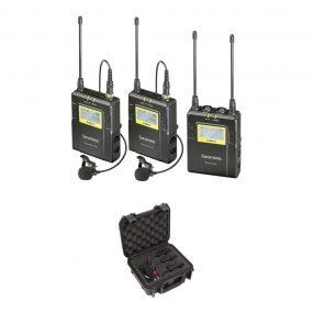 Saramonic UwMic9 RX9+TX9+TX9 + SR-C8 Kuljetuslaukku