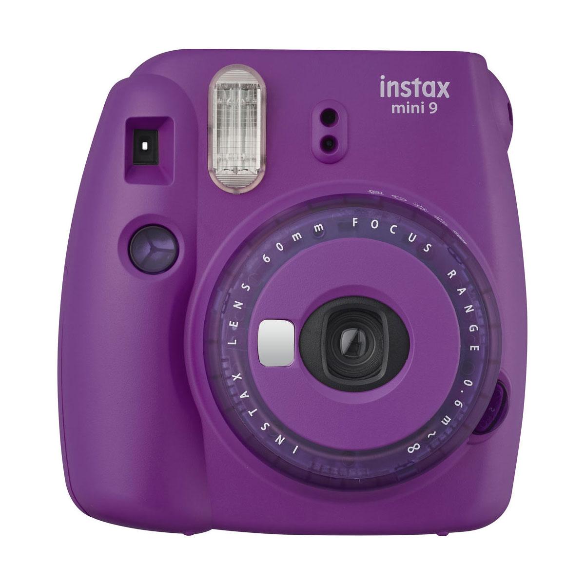 fujifilm instax mini9 clear purple 2