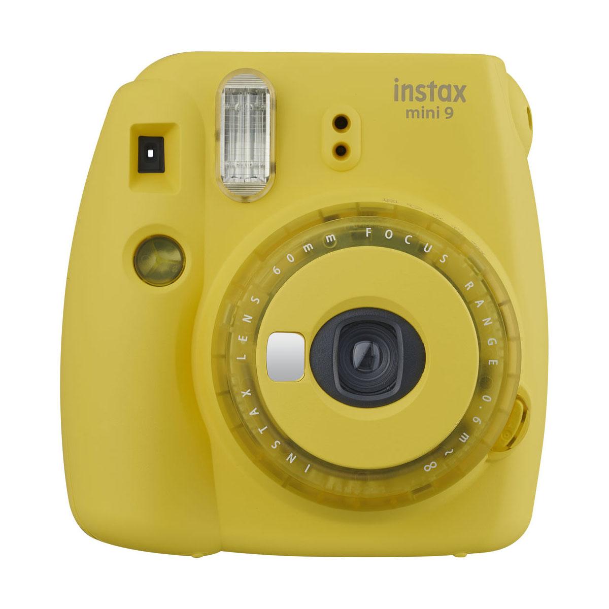 fujifilm instax mini9 clear yellow 1