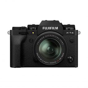 Fujifilm X-T4 musta + Fujinon 18-55mm