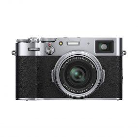 Fujifilm X100V hopea edestä