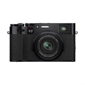 Fujifilm X100V musta edestä