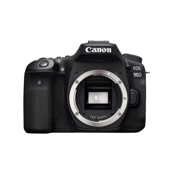 Canon EOS 90D (Kunto K5, Takuu 12kk , Shuttercount 0) – Käytetty