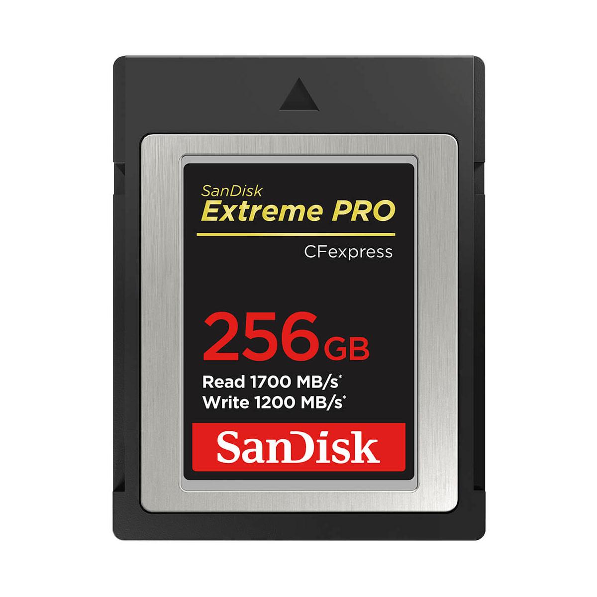 Sandisk Extreme Pro Type B CFexpress 256GB