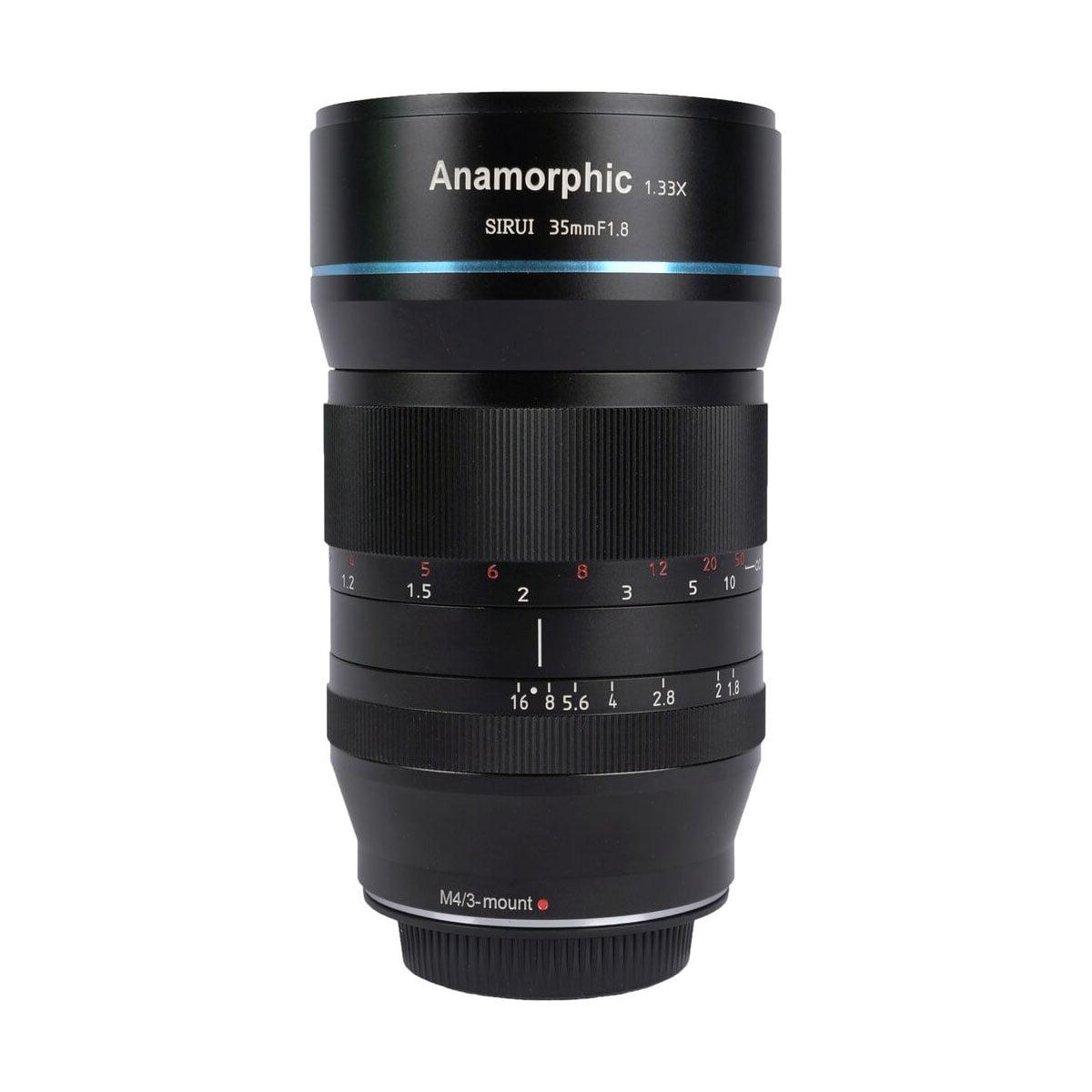 Sirui Anamorphic Lens 1.33x 35mm f/1.8 – MFT