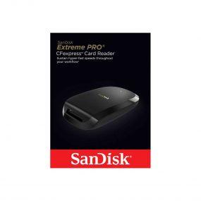 Sandisk Extreme Pro CFexpress Type B kortinlukija USB 3.1