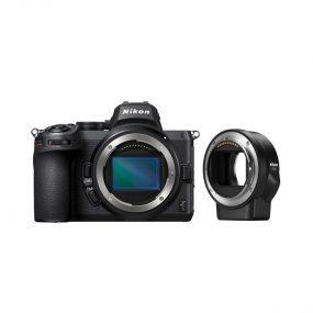 Nikon Z5 runko + FTZ adapteri