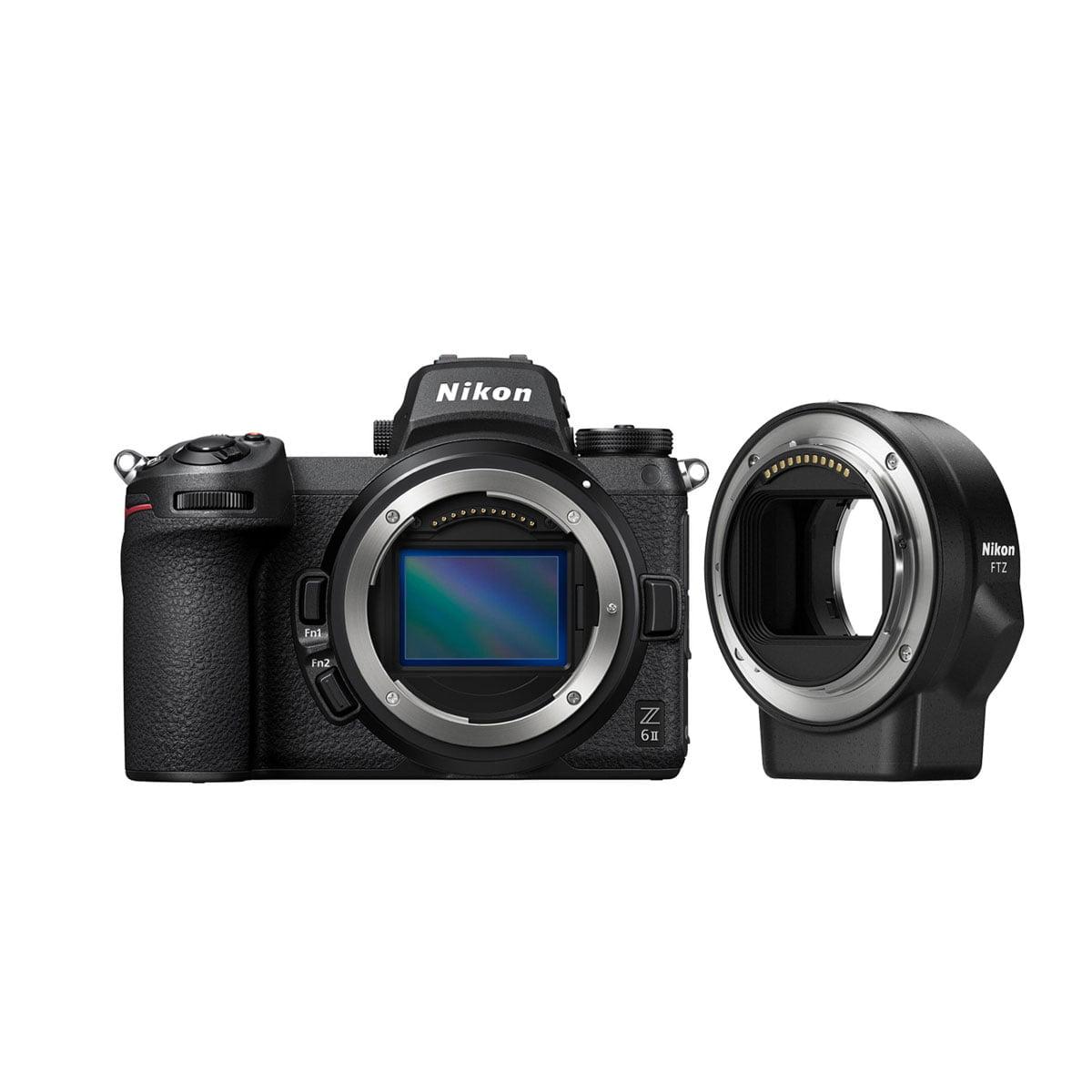 Nikon Z6 II + FTZ adapteri