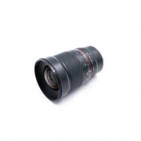 Samyang 24mm f/1.4 ED AS UMC Sony (Kunto K5, Takuu 6kk) – Käytetty (Kopio)