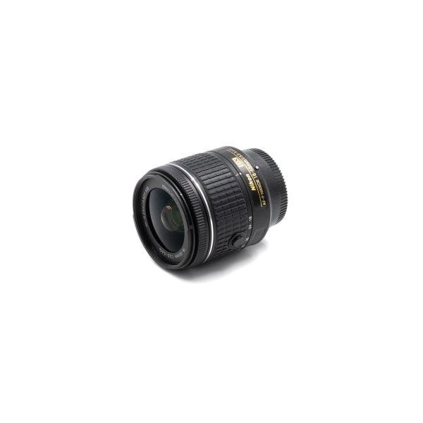 Nikon AF-P Nikkor 18-55mm f/3.5-5.6 VR DX – Käytetty (Kopio)