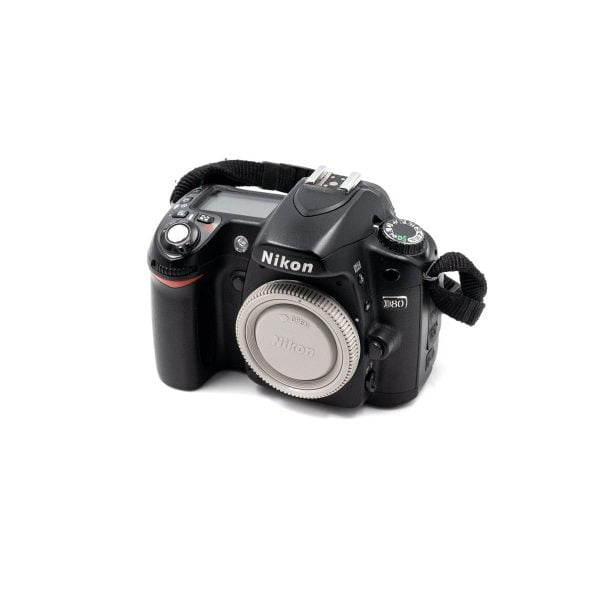 Nikon D80 (Shuttercount 16300) – Käytetty