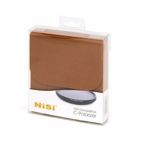 NiSi Filter Vari Orange/Blue CPL 67mm