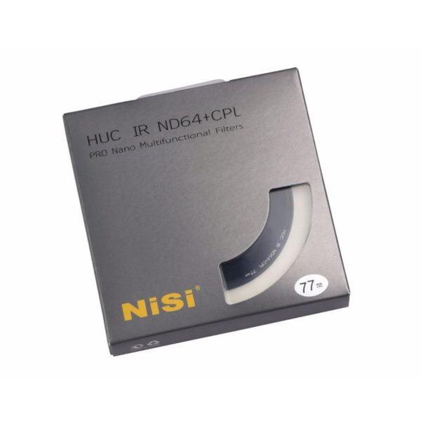 NiSi Filter IRND 64+CPL Pro Nano 62mm