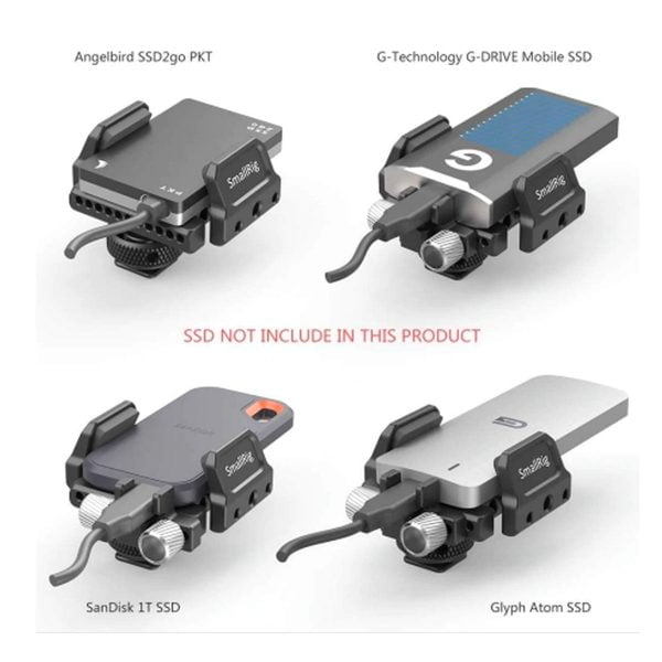 Smallrig 2343 Universal Holder for SSD
