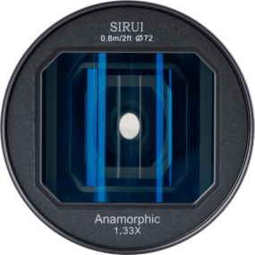 Sirui Anamorphic Lens 1,33x 24mm f/2.8 – Sony E-Mount