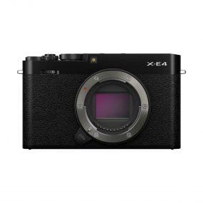 Fujifilm X-E4 – Musta