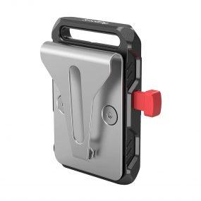 Smallrig 2990 Battery Adapter Plate V-Mount w Belt Clip