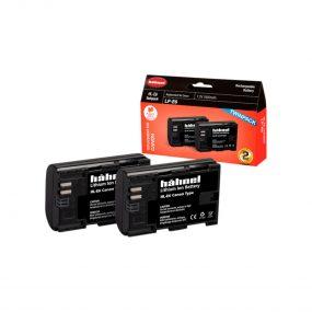 Hähnel HL-E6 ( Canon LP-E6 ) Twin Pack