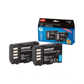 Hähnel HL-PLF19 ( Panasonic DMW-BLF19 ) Twin Pack