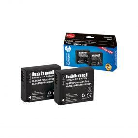 Hähnel HL-PLG10HP ( Panasonic DMW-BLG10E ) Twin Pack